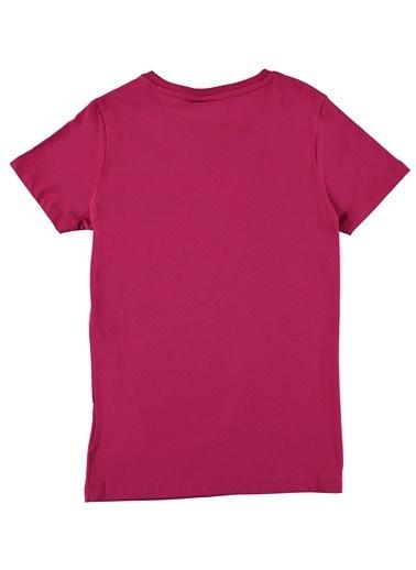 Hummel Tişört Fuşya